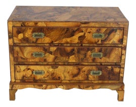 Image of Burlwood Chests of Drawers
