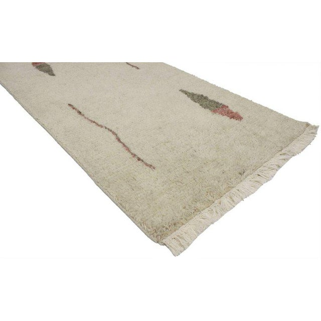 Abstract Bauhaus Moroccan Style Rug With Alexander Calder Style and Abstract Art Design, 2′7 × 4′9 For Sale - Image 3 of 4