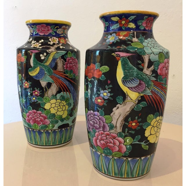Japanese Vases A Pair Chairish
