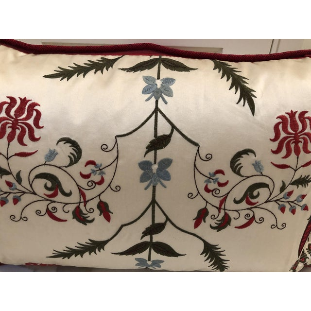 Early 21st Century Pierre Frey Kidney Pillows - A Pair For Sale - Image 5 of 7