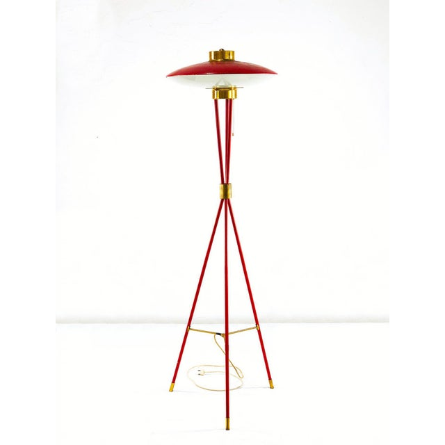 Mid 20th Century Stilnovo a Tripod Floor Lamp From the 50s. For Sale - Image 5 of 5