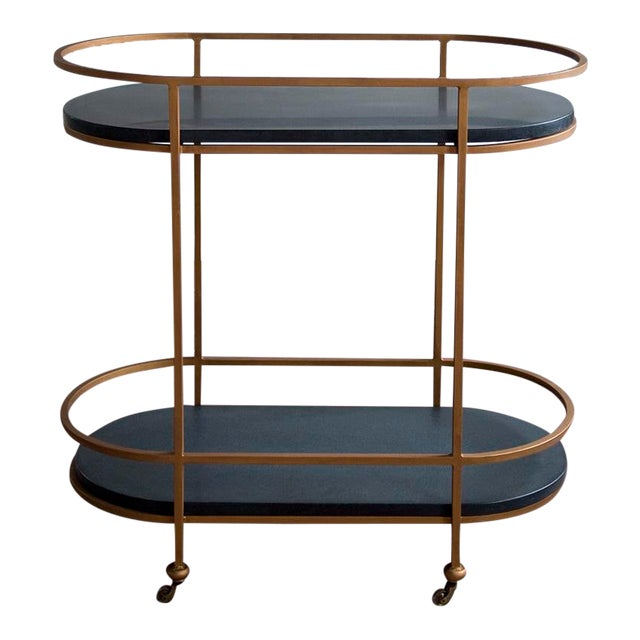 vanCollier Walsh Bar Cart For Sale