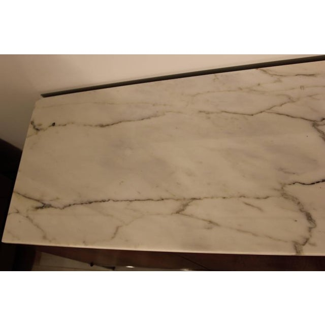Knoll Rosewood Marble-Top Credenza - Image 9 of 9