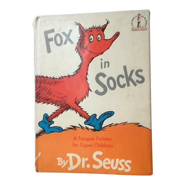 First Edition Dr Seuss Fox in Socks, 1965 For Sale