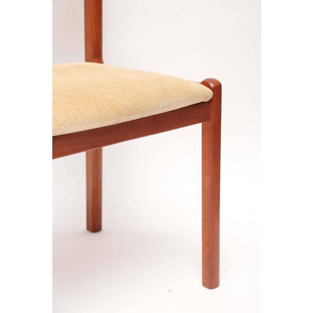 Teak Set of Six J.L. Moller Teak Dining Chairs, 1960s, Denmark For Sale - Image 7 of 7