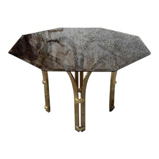 1970s Smoked Glass Dining Table