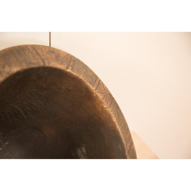 Vintage Wooden African Bowl - Image 5 of 10