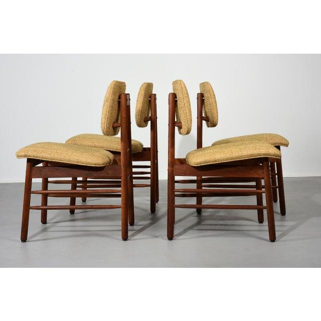 Mid-Century Modern 1952 Vintage Greta Grossman Model 6260 Chairs - Set of 4 For Sale - Image 3 of 10