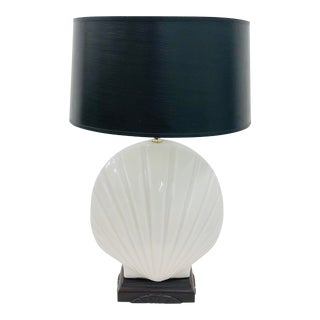 Vintage Seashell Table Lamp For Sale