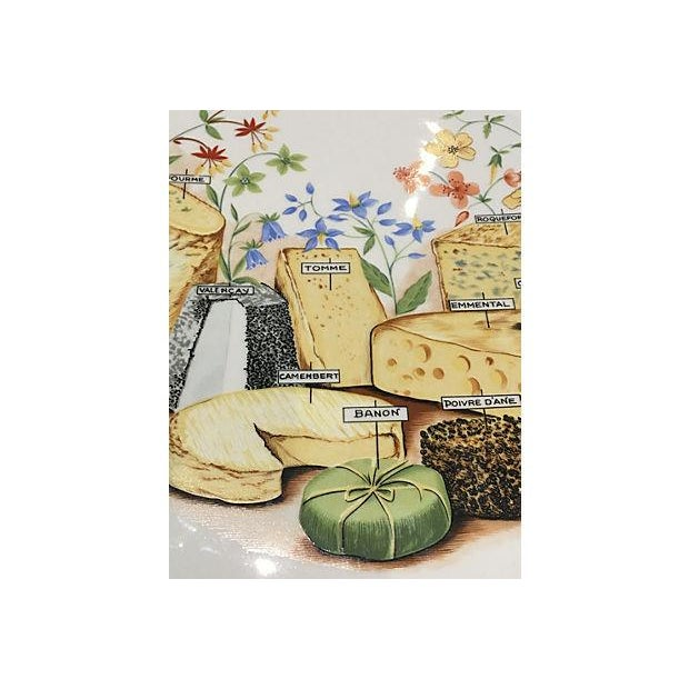 French Cheese Serving Platter For Sale In Miami - Image 6 of 6