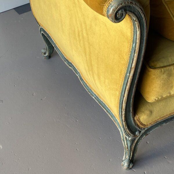 19th Century Venetian Recamier For Sale In West Palm - Image 6 of 13