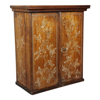 Anglo-Indian Rosewood Cabinet For Sale