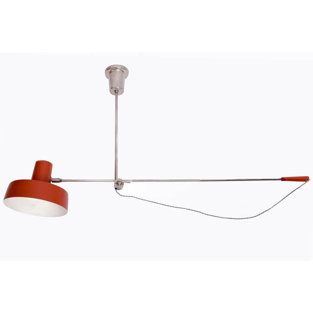 1950s Mid Century Modern Swing Arm Ceiling Light For Image 9 Of