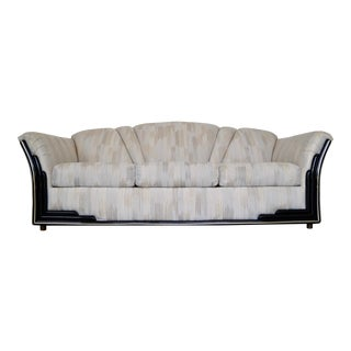 Hollywood Regency Art Deco Sofa by Rowe Furniture For Sale