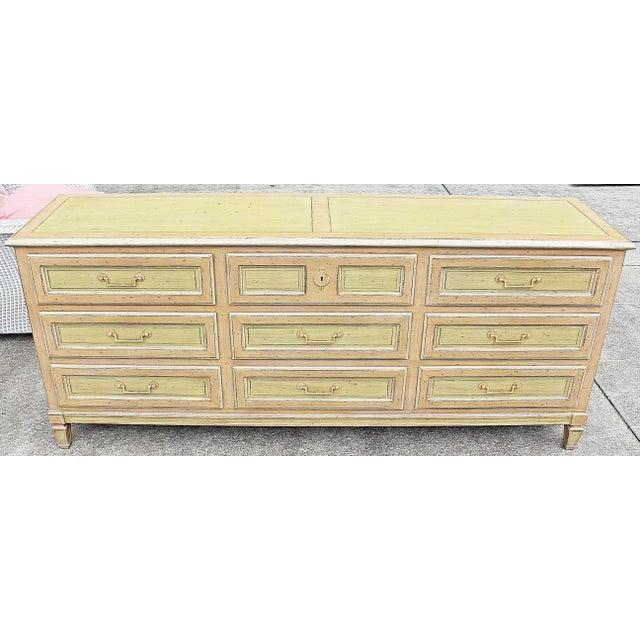 Painted Baker Triple Dresser - Image 4 of 8