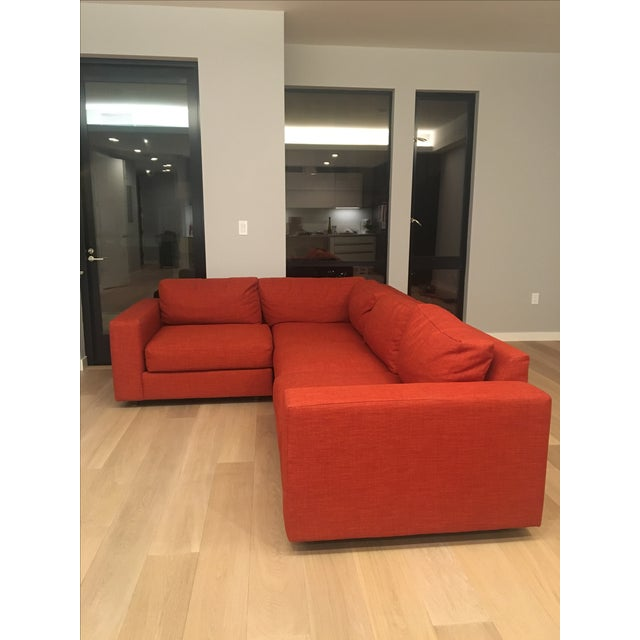 West Elm Cayenne Sectional - Image 3 of 3