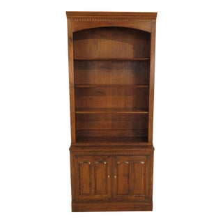 Ethan Allen Maple Bookcase Cabinet