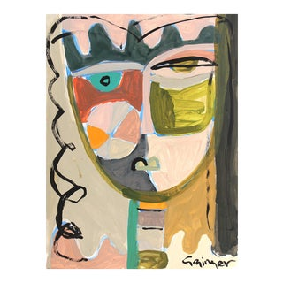 """Lesley Grainger """"Olivia-Jane"""" Original Face Painting For Sale"""
