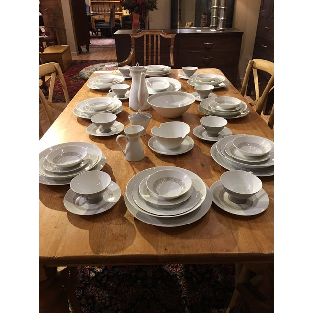 Rosenthal Greek Key Athenian China Set - 63 pieces For Sale In West Palm - Image 6 of 12