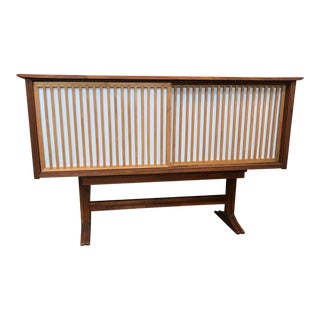 Nakashima Inspired Cabinet For Sale