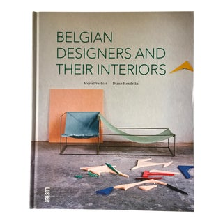 """Belgian Designers & Their Interiors""-Design Book For Sale"