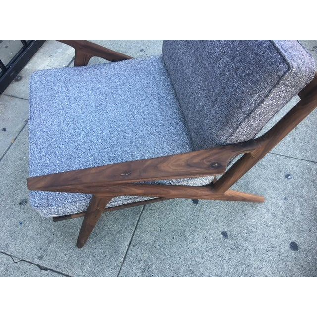 Mid-Century Modern Z Chair For Sale In Los Angeles - Image 6 of 6