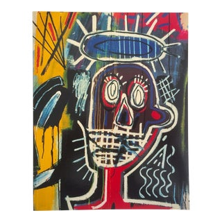 Jean Michel Basquiat Rare Vintage 1992 1st Edition Whitney Retrospective Exhibition Iconic Collector's Art Book, 1992 For Sale