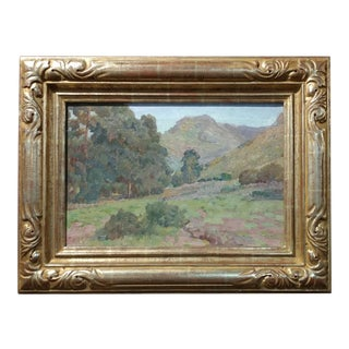 Charles Fries Eucalyptus Among the Hills Oil Painting For Sale