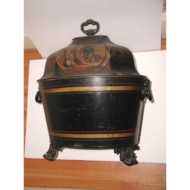 Early 19th Century French Coal Hod For Sale - Image 11 of 11