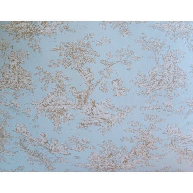 Designer French Blue & White Toile Pillows - Pair - Image 7 of 8