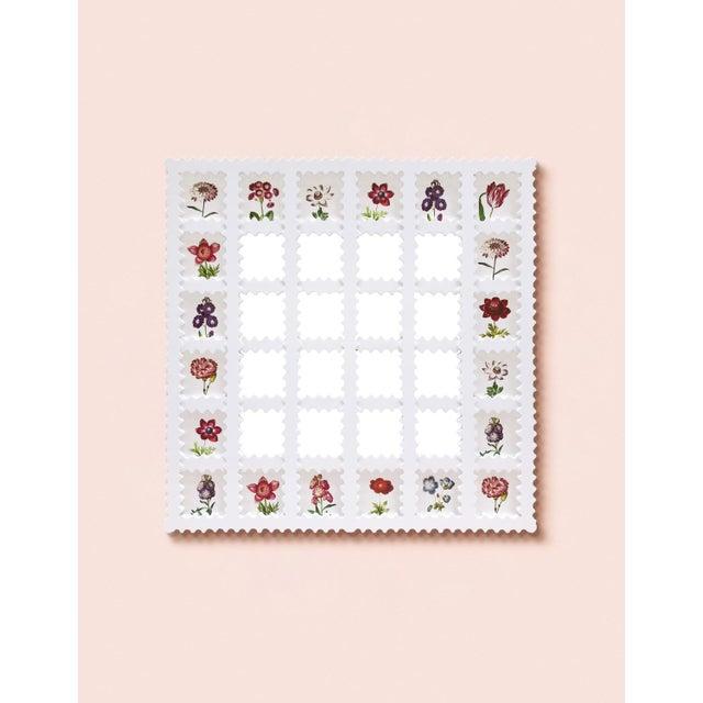 Contemporary Fleur Home x Chairish Liz Marsh Lattice Mirror For Sale - Image 3 of 4