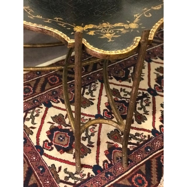 Asian Dennis & Leen Chinoiserie Tray Table For Sale - Image 3 of 7