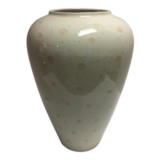 Signed Alvino Bagni Raymor Mid-Century Modern Ceramic Vase Italy Bloomingdales For Sale