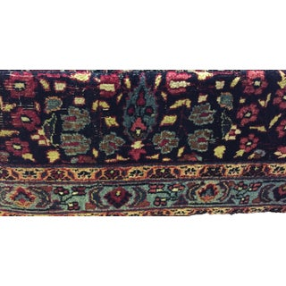 "Custom Made Oversized Antique Tribal Bakhtiari Ottoman /Table 32"" W by 18"" H Preview"