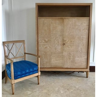 1940s Mid Century French Cerused Cabinet Preview