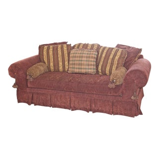 Lane Raymond Waites Custom Bolster Sofa For Sale