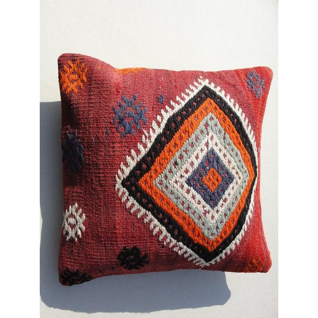 Kilim Rug Pillow - Image 8 of 11
