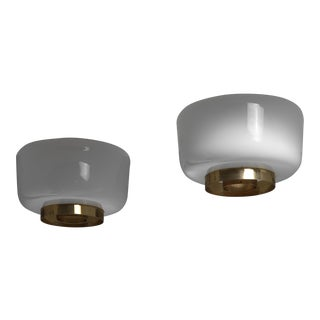Pair of Lisa Johansson-Pape Ceiling Lamps, Orno, Finland, 1960s For Sale