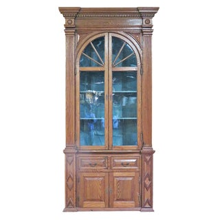 Early 19th Century Georgian Pinewood Display Cabinet For Sale