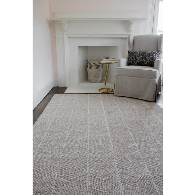 Erin Gates by Momeni Easton Congress Brown Indoor/Outdoor Hand Woven Area Rug - 7′6″ × 9′6″ For Sale In Atlanta - Image 6 of 8