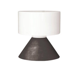 Samuli Naamanka for Innolux Oy 'Concrete' Table Lamp in Dark Gray