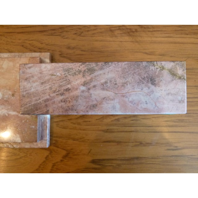 Pink Pink Marble Box For Sale - Image 8 of 9