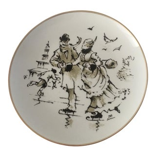 Bing and Grondahl First Edition Anniversary Plate