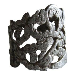 Ernesto Gonzalez Jerrez Studio Aluminum Bracelet For Sale