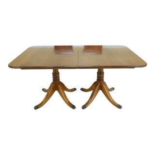 Stickley Solid Cherry Duncan Phyfe Dining Room Table For Sale