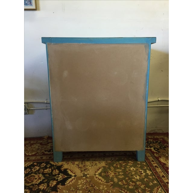 Blue Shabby Chic Chest - Image 6 of 6