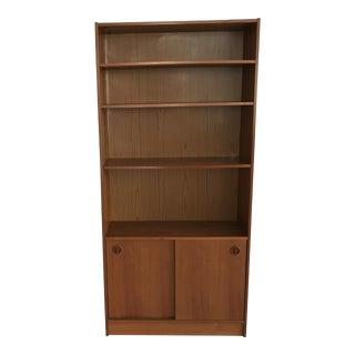 Poul Hundevad Danish Mid-Century Teak Bookcase