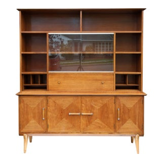 Mid 20th Century Renzo Rutili Hutch For Sale