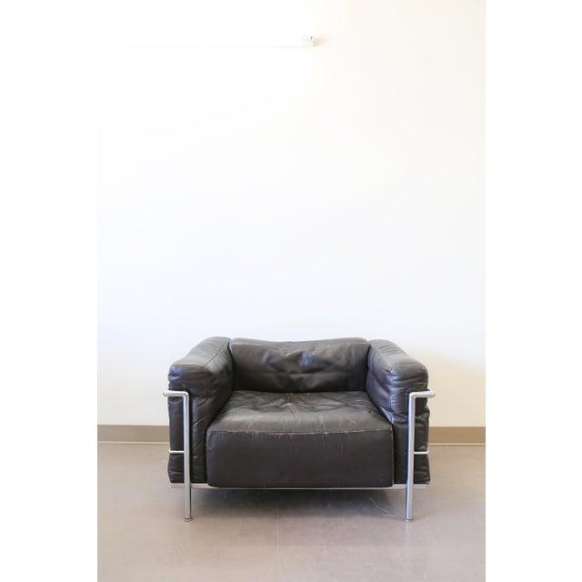 Le Corbusier Lc3 Grand Comfort Lounge Chair Chairish