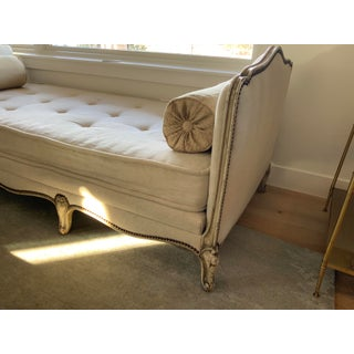 Vintage Mid Century French Louis XV Style Painted Daybed Preview
